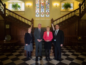 Camera Club leaders visit Governor